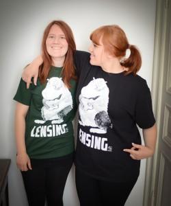 The Lensing t-shirt, immer schick, macht immer gut-drauf, einfach Geil!